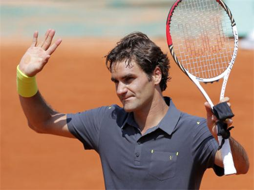 Roger Federer vs Nicolas Mahut: Tercera Ronda Roland Garros 2012