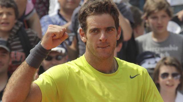 Juan Martin Del Potro vs Robin Haase Primera Ronda Wimbledon 2012