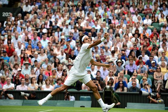 Federer Wimbledon 2012