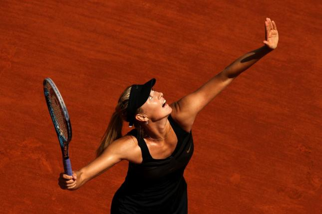 Sharapova vs Errani Roland Garros 2012