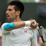 Novak Djokovic vs Florian Mayer Cuartos de Final Wimbledon 2012