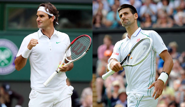 Roger Federer vs Novak Djokovic Semifinal Wimbledon 2012