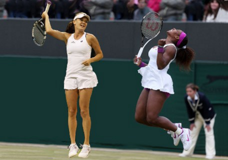 Serena Williams vs Radwanska Wimbledon 2012