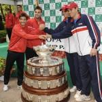 Copa Davis 2012:  Mike y Bob Bryan VS.  Granollers y Lopez - Semifinales - Día 2