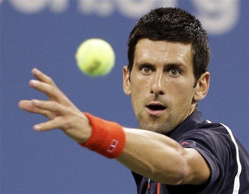 Djokovic y sus locuras lo vuelven toda una figura en el tenis mundial