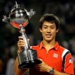 El japonés Kei Nishikori hace historia en su propia tierra