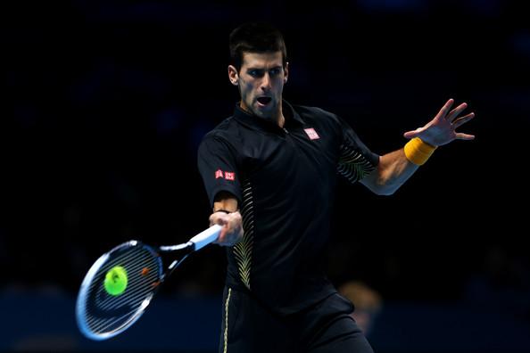 Fotos y Videos – Juan Martín Del Potro vs. Novak Djokovic – Torneo de Maestros Londres 2012