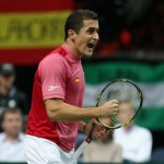 Final Copa Davis 2012: Nicolas ALmagro vs  Radek Stepanek - España vs Rep. Checa