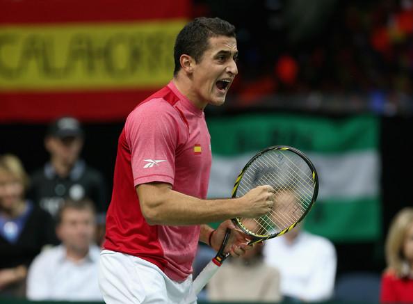 Final Copa Davis 2012: Nicolas ALmagro vs  Radek Stepanek - España vs Rep. Checa