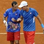 Copa Davis 2012: Dobles,  Granollers/Lopez vs Berdych/Stepanek