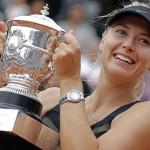 María Sharapova, un año de éxitos en el tenis mundial