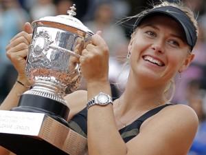 Maria Sharapova vuelve a reinar (AP Photo/Michel Euler)