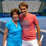Cálida y emotiva estadía de Roger Federer en Brasil