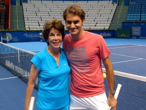 Roger Federer - Maria Esther Bueno