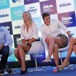 Las estrellas del tenis mundial en gira por Sudamérica llegan a Brasil