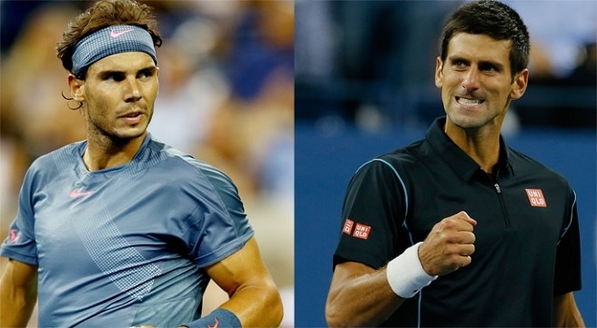 Rafael Nadal vs Novak Djokovic ATP World Tour Finals